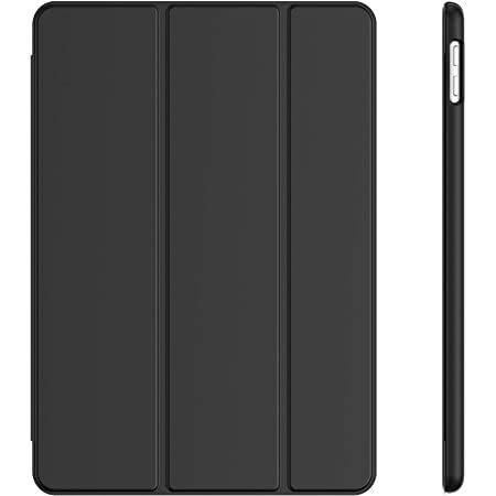 JETech Case for iPad 10.2-Inch (2020/2019 Model, 8th / 7th Generation), Auto Wake/Sleep Cover, Black