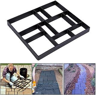 Molde Hormigon, Impreso Molde de Pavimento de Entrada de Bricolaje Cemento Ladrillo Piedra Carretera DIY