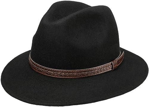 Lipodo Sombrero de Lana Kentucky, Hombre - Sombrero de Lana 100% - Sobrero de Fieltro Fabricado en Italia - Sombrero ...