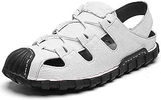 YAMMY Los Hombres De Los Deportes Al Aire Libre Sandalias, Ocio Baotou Zapatos De Playa De Desgaste Inferior Suave Antides...