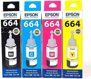 Kit Tinta Epson T664 4 Cores T664 Epson L395 L380 L375 L220 L455