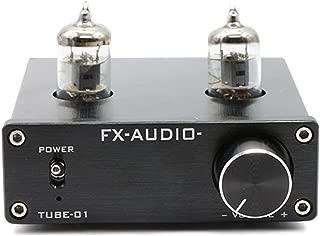 FX Audio TUBE-01 6J1 Tube Buffer HIFI Preamplifier (Black)