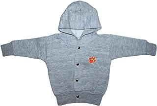 Clemson University Tigers Baby Snap Hooded Jacket