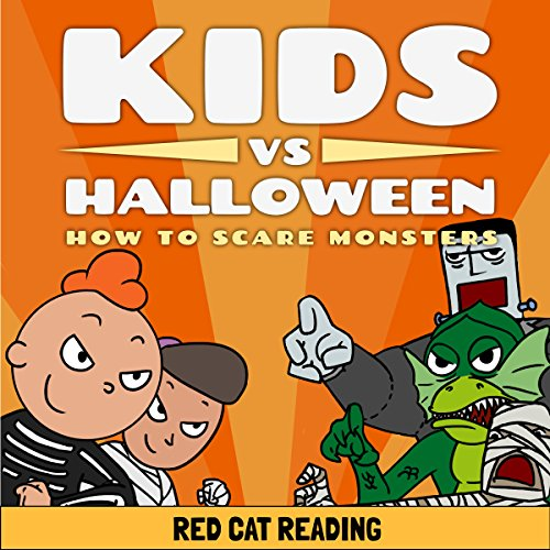 Kids vs Halloween: How to Scare Monsters audiobook cover art