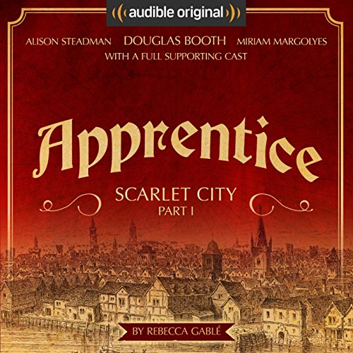 Apprentice - Scarlet City - Part I  audiobook cover art