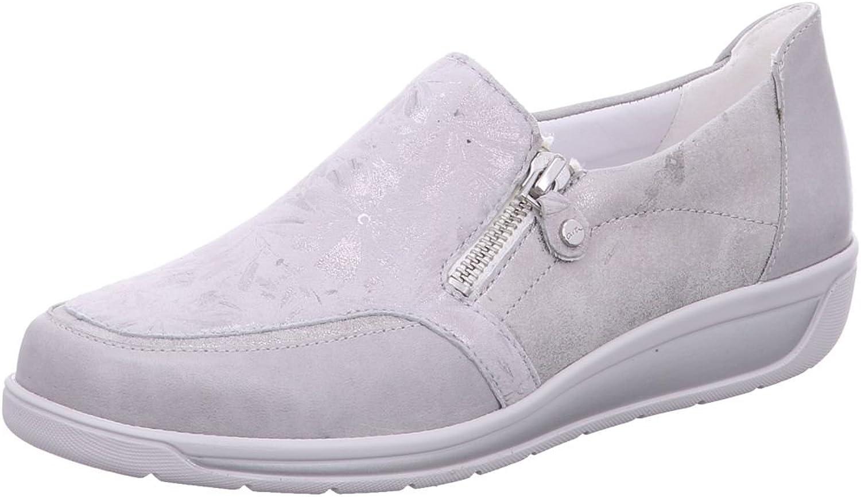 ARA Damen Slipper Meran 12-26323-08 - - Silber 447116  Werksverkauf