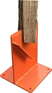 Hi-Flame Firewood Kindling Splitter for Wood Stove Fireplace and Fire Pits, Orange