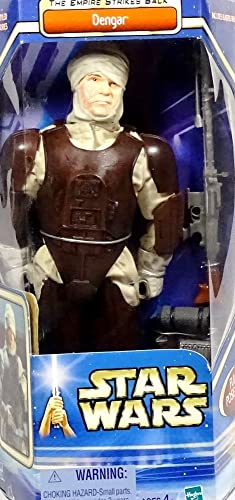 Dengar Bounty Hunter  The Empire Strikes back  12  Inch, 30 cm Actionfigur - Star Wars Saga Collection 2003 von Hasbro