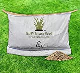 1kg Grass Seed Covers up to 55 m2 (590 ft2) New Lawns - Premium Quality Seed - Fast Growing - Hard Wearing Lawn Seed - Tailored to UK Climate - Trademark Registered - GBW Grass Seed - 100% Refund