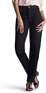 Lee Women's Relaxed Fit Side Elastic Tapered Leg Jean