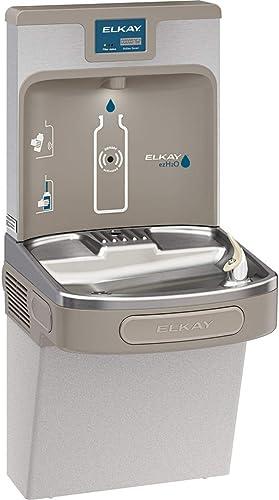 high quality Elkay LZS8WSLP Enhanced EZH2O Bottle Filling Station & Single popular ADA Cooler, Filtered online sale 8 GPH Light Gray outlet sale