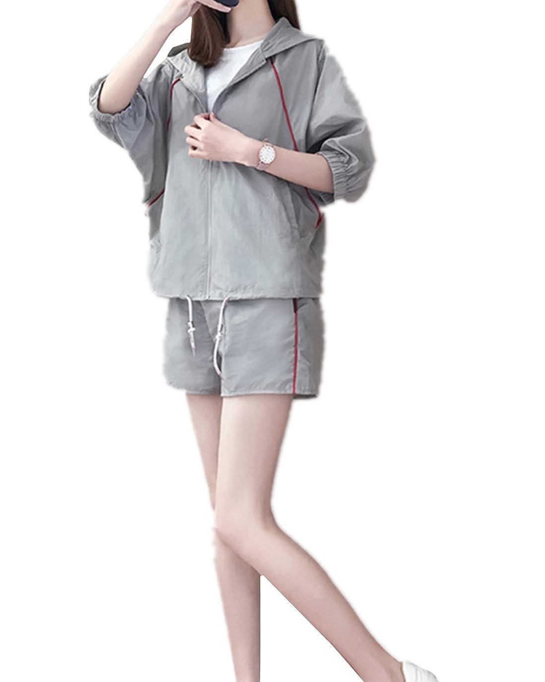 インデックス絶えず金額レディースTシャツ+パンツ 上下 2点セット 着やせ スポーツ トレーニング ヨガ ウェア レディース パ ンツ 半袖 セット アップ ズボン 春夏 大きいサイズ ファッション