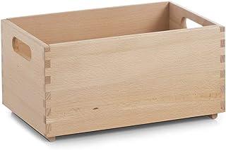 Zeller 13306 Caja Multiusos, Madera, Marrón, 30x20x15 cm