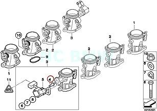 Genuine BMW E90 E90N E92 E93 Throttle Body Clutch Hall Sensor OEM 13547837181