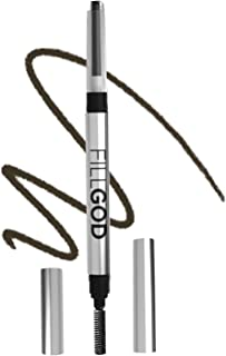 SCALPA Eyebrow Filler Pencil for Brows, Beard, and Hair, Includes 2 in 1 Pencil and Brush