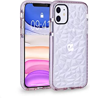 iPhone 11 Case, iPhone 11 6.1 inch Case, FGA Clear Diamond Cute Protective Soft Shockproof Bumper Cover Skin for iPhone 11 2019