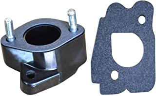 Carburetor Intake Spacer Joint for Golf Cart G2/G8/G9/G11/G14, Replaces Yamaha Parts
