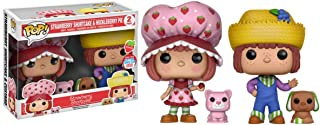 Funko Strawberry Shortcake Funko POP! Animation Strawberry Shortcake & Huckleberry Pie Exclusive Vinyl Figures