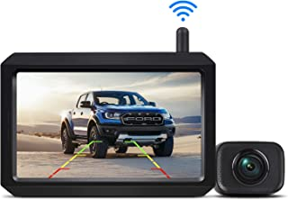 AUTO-VOX W7 Wireless Backup Camera Kit, 5 Inch Monitor with Stable Digital Signal Transmission from Rear View Camera. Suit...