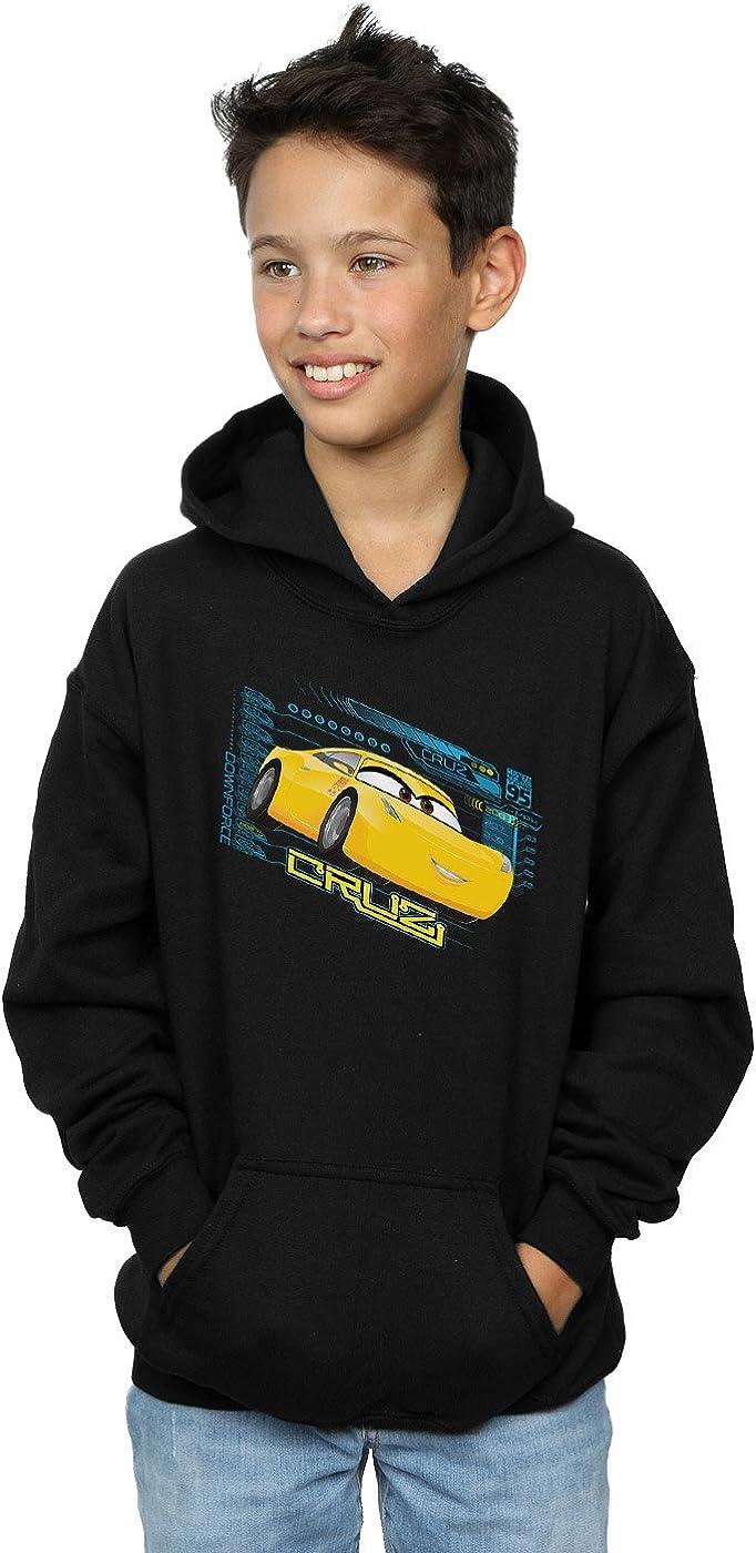 Disney Boys Cars Cruz Ramirez Hoodie 5-6 Years Black
