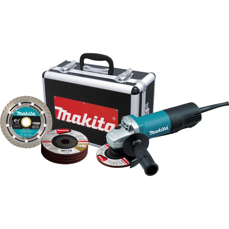 Makita 9557PBX1 2 Inch Grinder Aluminum