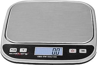 Steinberg Crochet Balance de Table Digitale SBS-TW-500/10G (500 g / 0,01 g, plateau de pesée 13 x 10 cm, plage de pesée de...