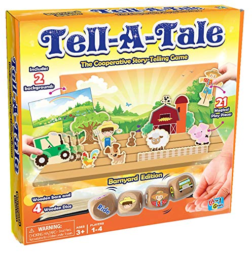 (40% OFF) Tell A Tale-Barnyard Board Game $10.80 Deal