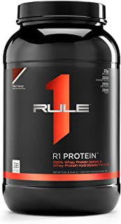 R1 Protein Whey Isolate/Hydrolysate, Rule 1 Proteins (38 Servings, Red Velvet)