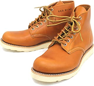 [レッドウィング] 9871 6inch CLASSIC ROUND TOE ブーツ ゴールドラセットセコイア 犬タグ