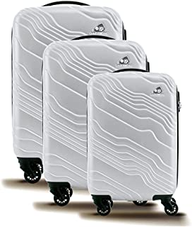 Kamiliant by American Tourister Kanyon Hardside Spinner Luggage Set of 3, with Number Lock
