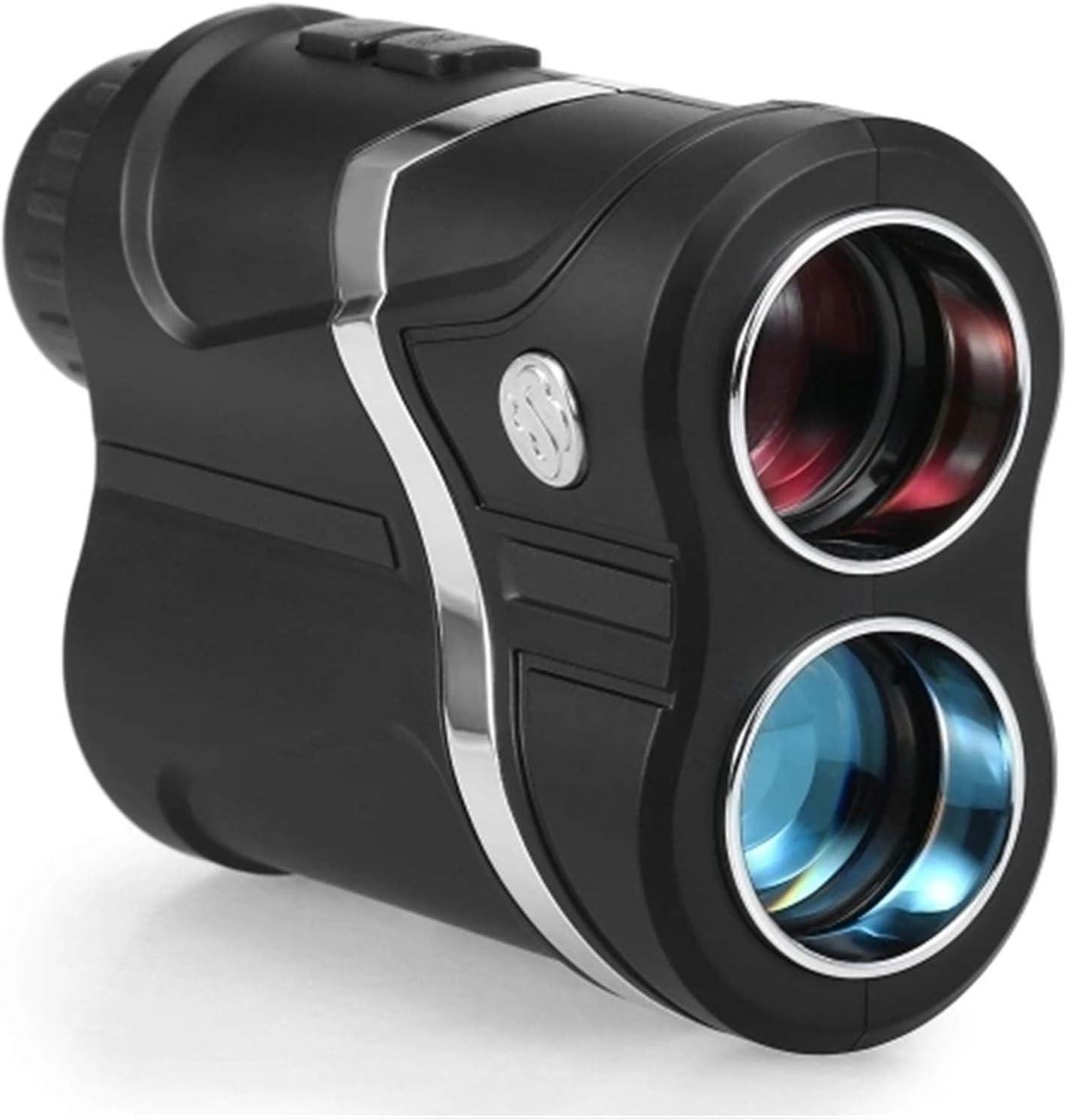 yaunli Telémetro de Golf Manténgase de Gama de Golf Recargable USB Resistente al Agua 7X Telémetro de Golf Impermeable (Color : Black, Size : One Size)