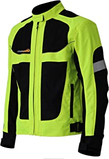 Motorcycle Riding Jacket CE Protective Gear Armored...