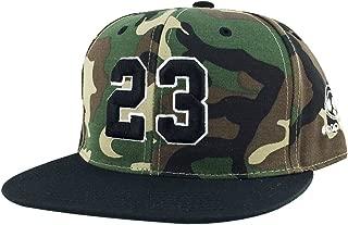 Mens Womens Number #23 Custom Adjustable Fishing hat