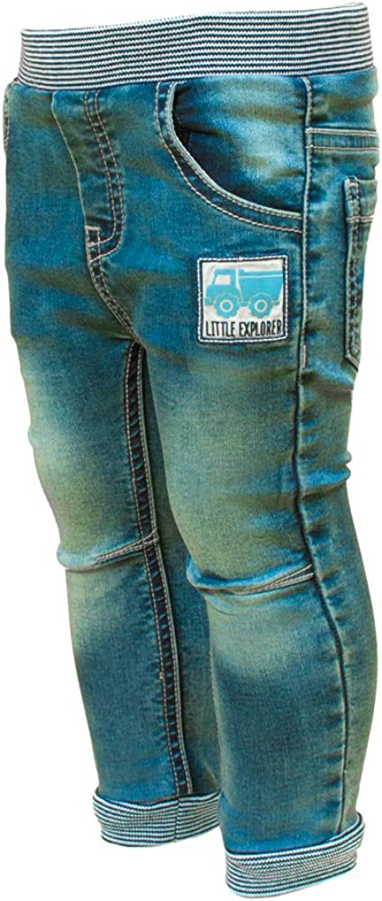 SALT AND PEPPER Baby-Jungen Adventure Print Jeans
