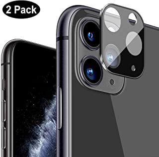 Compatible with iPhone 11 Pro / 11 Pro Max Camera Lens Protector, [2 Pack] Clear Tempered Glass Ultra Thin High Definition Transparent Camera Lens Protector for iPhone 11 Pro/11 Pro Max 2019