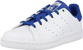 adidas Originals Stan Smith J Bianca/Blu (White/Royal Blue) Pelle 38 EU