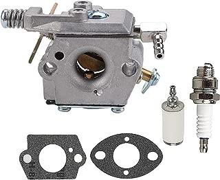 Coolwind 640347 640347A Carburetor w Gasket fit Strikemaster Jiffy Ice Auger Tecumseh TM049XA Power Head Spark Plug