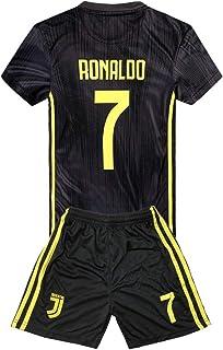 d3eb6f4d225bf JRJ 2018-2019 Cristiano Ronaldo 7 T-Shirt CR7 Juventus Homme Maillot &  Enfants