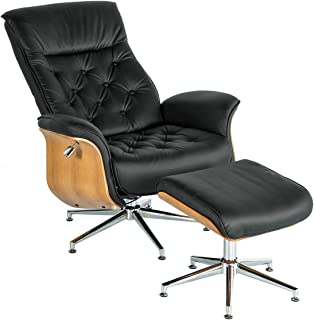 Best contemporary leather chair with ottoman Reviews