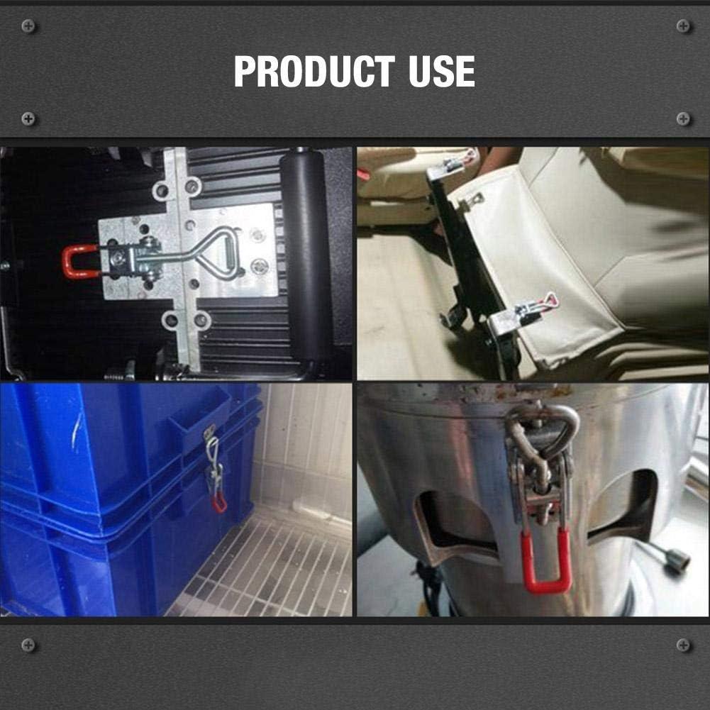 431*120 Toggle Latch Clamp in Acciaio Al Carbonio Heavy Duty Clamp Orizzontale Autobloccante Toggle Clamp Strumento A Sgancio Rapido