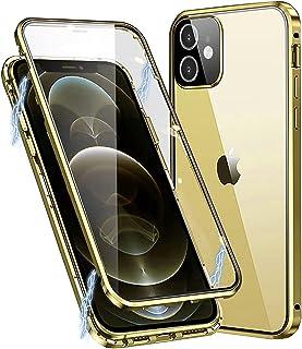 MIMGOAL Hoes voor iPhone 11 magnetische telefoonhoes 360 graden full body case [met cameralensbescherming] voorzijde achte...