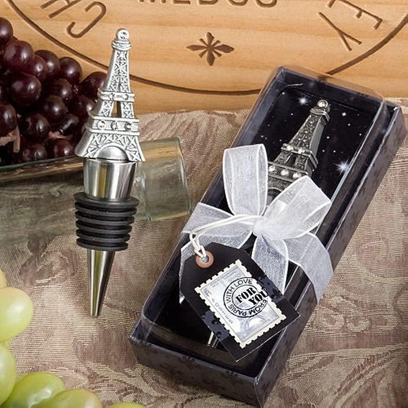From Paris Love Eiffel Tower Wine Bottle Stopper Wedding Favor French Reception