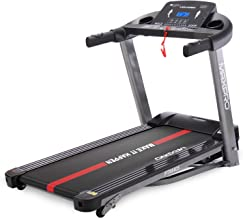 MAXPRO PTM405 2HP(4 HP Peak) Folding Treadmill, Electric Motorized Power Fitness Running Machine with LCD Display and Mobi...