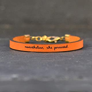 Best bracelet nevertheless she persisted Reviews