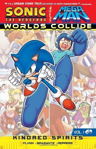 Kindred Spirits (Sonic/Mega Man: Worlds Collide) by Flynn, Ian, Peppers, Jamal (2013) Paperback