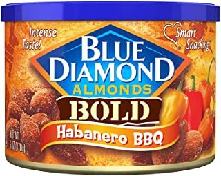 Blue Diamond Almonds, Bold Habanero BBQ, 6 Ounce