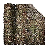 LOOGU Camouflage Net Italy Woodland Camo Netting Blind for Hunting Military Sunshade Camping Shooting Fence Party Decoration or Christmas