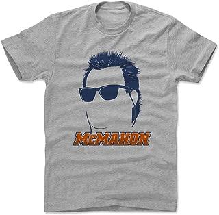 500 LEVEL Jim McMahon Shirt - Vintage Chicago Football Men's Apparel - Jim McMahon Silhouette