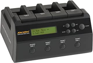 Aleratec 350117 1:3 HDD Copy Dock 4-Bay Duplicator/Dock with USB3.0 and eSATA Connectivity
