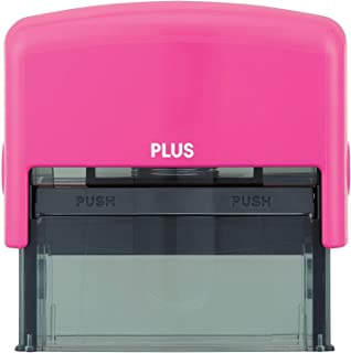 Plus Guard Your ID Stamp, Large, Pink, 1 Pad